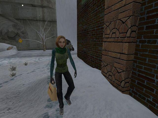 Plik:Woman in winter clothes.JPG
