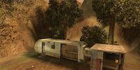 Postal Dude's trailer