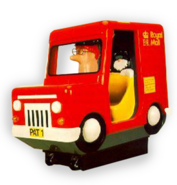 Postman Pat Coin Operated Ride On