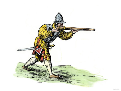 File:Spanish-soldier-aiming-an-arquebus-in-the-new-world-16th-century.jpg