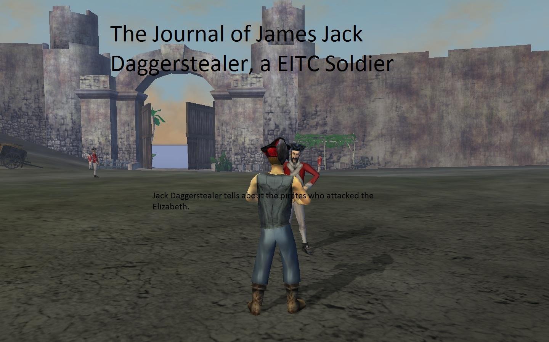 Journal of Jack Daggerstealer cover