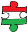 Hungary puzzle transparent