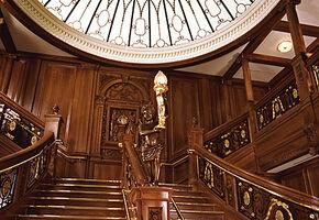 Titanic grand staircase