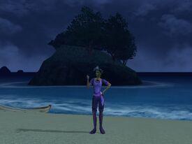 Kat Purple Outfit