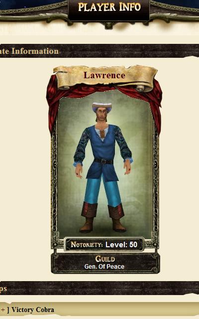 Law Profile Blue