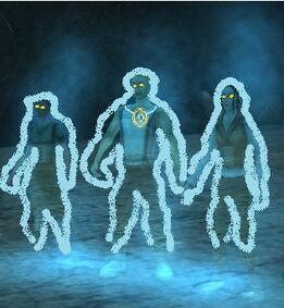 Light ghosts