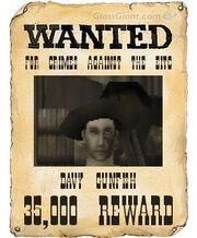 Davy Gunfish Wanted