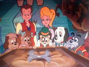 Jeff, Tammy, and the Pound Puppies