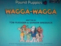 Title screen for Wagga Wagga