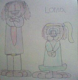 Pat and Lorna