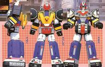 Mega Voyager (Power Rangers In Space)