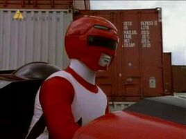 Red Ranger in Capsular Cycle