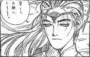 Ryuto Face bw
