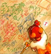 Kurara drawing