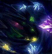 Lightsaber crystals