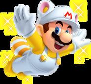 Invincibility Raccoon Mario New Super Mario Bros. 2