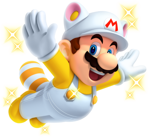 File:Invincibility Raccoon Mario New Super Mario Bros. 2.png