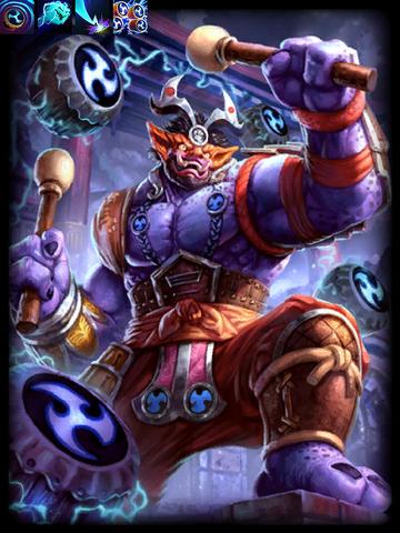 File:70)Raijin, God of Storms.png