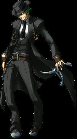 File:Hazama (Continuum Shift, Character Select Artwork, Alternate).png