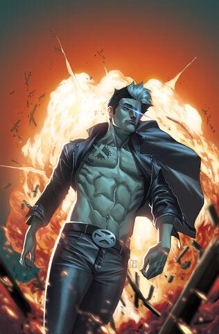 File:New Mutants Vol 3 25 Jorge Molina Textless Variant.jpg