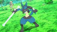 Korrina Lucario Bone Rush
