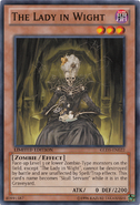 The Lady in Wight yugioh