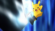 Pikachu iron tail strike