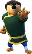 Khampa rock dog