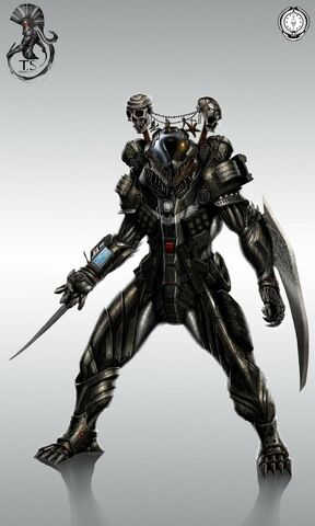 File:Skulls futuristic weapons armor digital art concept art science fiction artwork blades armored suit www.wallmay.com 38.jpg