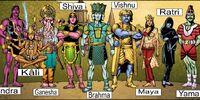 Hindu Deity Physiology