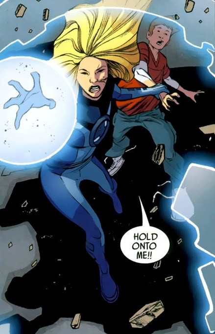 Invisible Woman Powers - 0425