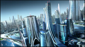 Future city too by robertdbrown-d3gq92q