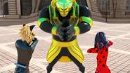 Pharaoh Sekmet Miraculous Ladybug