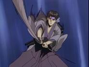Sakuramaru's dual-headed katana