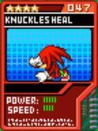 Heal knuckles