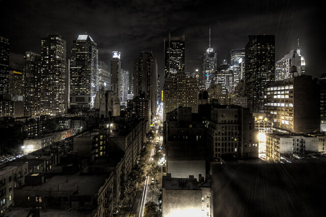 File:New York City at night HDR edit1.jpg