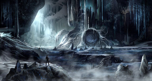 File:Yet another ice cave environment by blueroguevyse-d5ve4vy.jpg