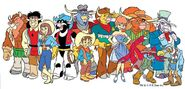 Wild West C.O.W.-Boys of Moo Mesa characters