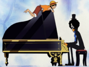 Brook and piano