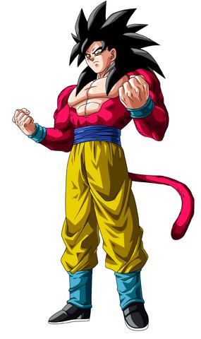 File:Goku Super Saiyan 4.png