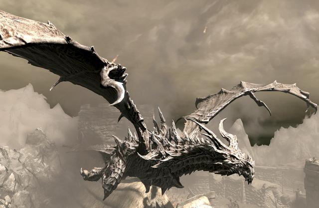 File:Alduin Elder Scrolls V Skyrim.png