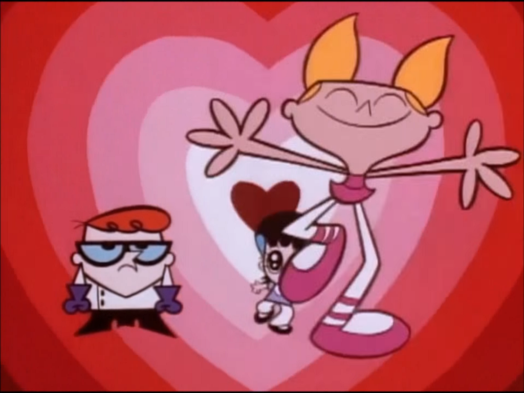 image ppg ending hearts reference from dexters lab episode aye
