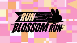 Run Blossom Run title card