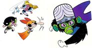 Powerpuff Derek Charm