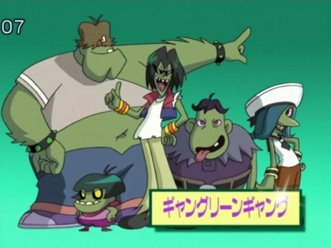 The Powerpuff Girls Green