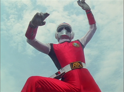 Red Flash Gaoranger vs. Super Sentai