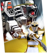 White Tigerzord Megazord Madness
