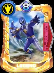AbareBlue Card in Super Sentai Legend Wars