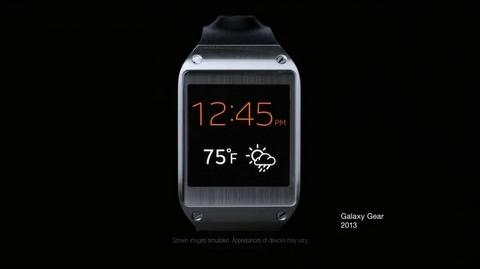Samsung Galaxy Gear Official TV Commercial (Evolution)