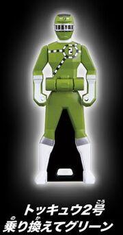 ToQ 2 Green Ranger Key